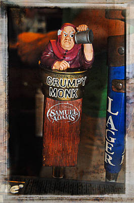Photograph - Grumpy Monk by Mike Martin