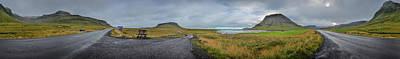Photograph - Grundarfjordur Panorama by David Halperin