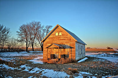 Photograph - Grundy Country School 3 by Bonfire Photography
