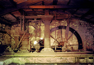 Grunge Cane Mill Art Print by Robert G Kernodle