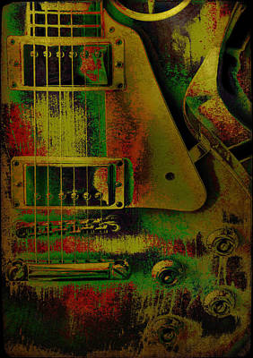 Photograph - Grunge Metal by Jan Amiss Photography