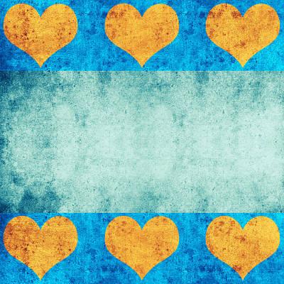 Digital Art - Grunge Of The Heart by Anton Kalinichev