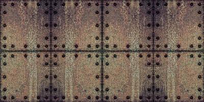 Digital Art - Grunge Texture Metal by Anton Kalinichev