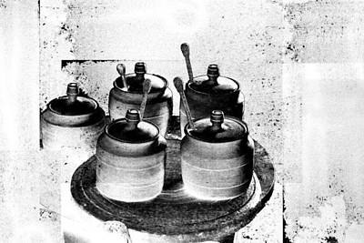 Photograph - Honey Jars by Don Gradner