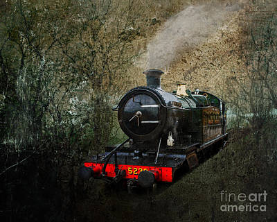 Photograph - Grungy Steam Train by Terri Waters