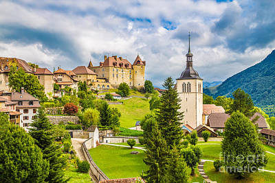 Photograph - Gruyeres by JR Photography