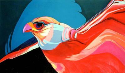Painting - Gryfalcon by Marlene Burns