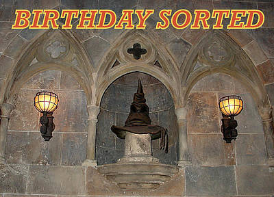 Photograph - Gryffindor Birthday by David Nicholls