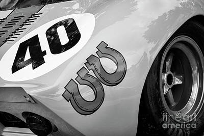 Photograph - Gt 40 by Dennis Hedberg
