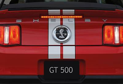 Photograph - Gt 500 by David and Lynn Keller