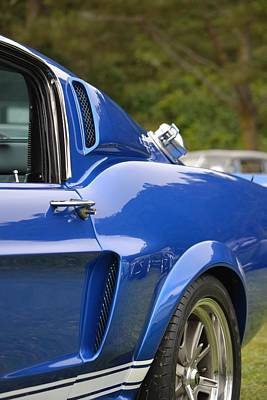 Photograph - Gt 500 In Blue by Dean Ferreira