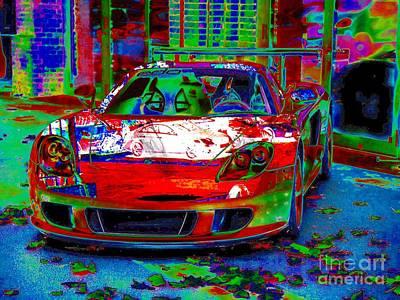 Gt Porsche Carrera Art Print by Rogerio Mariani