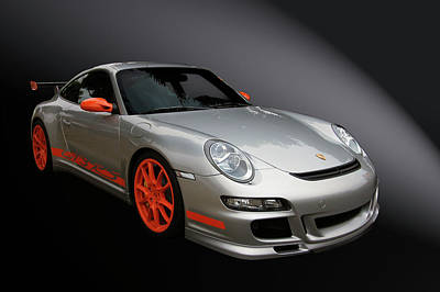 Vehicle Photograph - Gt3 Rs by Bill Dutting