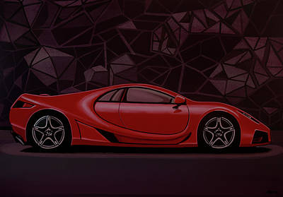 Painting - Gta Spano 2010 Painting by Paul Meijering