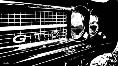 Photograph - Gto In Ink by Nathan Little