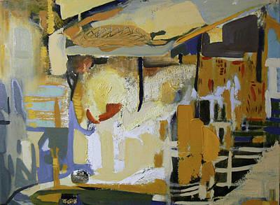 Gu Kaizhi Abstraction Print by Kevin Pang