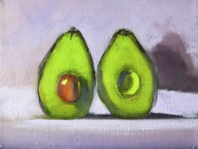 Painting - Guacamole by Nancy Merkle