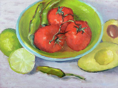 Painting - Guacamole Tonight by Mike Patterson