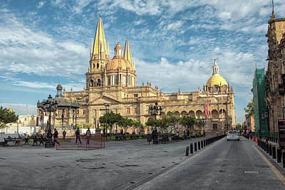 Photograph - Guadalajara Cathedral by Eunice Gibb