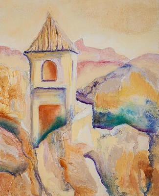 Painting - Guadalest by Jenny anne Morrison