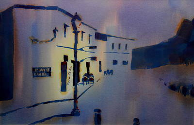 Painting - Guadalest Spain by William Duncan