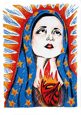 Guadalupe Art Print by DeAnn Acton