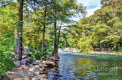 Photograph - Guadalupe River - Gruene by Savannah Gibbs