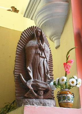 Photograph - Guadalupe Watches Over Us by Donna Starr