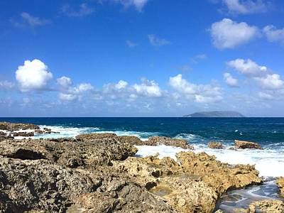 Photograph - Guadeloupe - Pointe Des Chateaux by Cristina Stefan