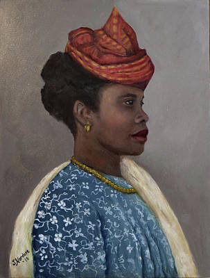 Painting - Guadeloupe Woman by Sandra Nardone
