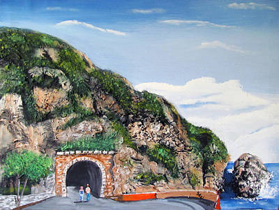Painting - Guajataca Tunnel by Luis F Rodriguez