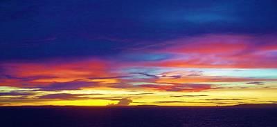 Photograph - Guam Sunrise I 10/2015 by Phyllis Spoor