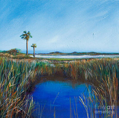 Guana River Lll Art Print by Michele Hollister - for Nancy Asbell