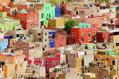 Art Print featuring the photograph Guanajuato 3, Mexico. by Rob Huntley