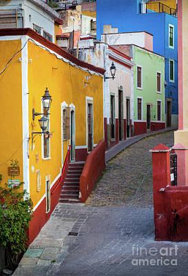 Guanajuato Photograph - Guanajuato Street by Inge Johnsson