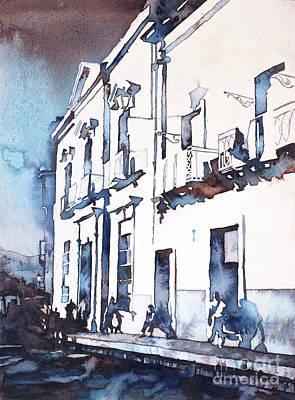 Painting - Guanajuato Street by Ryan Fox