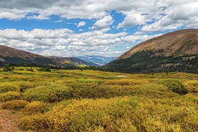 Photograph - Guanella Pass by John M Bailey