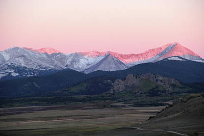 Photograph - Guanella Sunrise by Marie Leslie