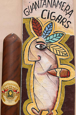 Photograph - Guantanamera Cigars by Dart and Suze Humeston