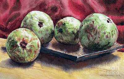 Painting - Guapples by Joey Agbayani