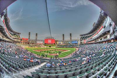 Photograph - Guaranteed Rate Field Aka White Sox Park by David Bearden