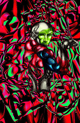 Digital Art - Guard by Dan Sheldon