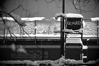 Dave Taylor Photograph - Guard Stand by Dave Taylor