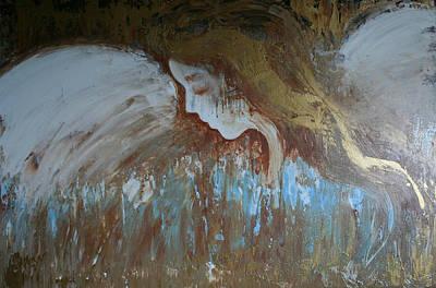 Painting - Guardian Angel by Alma Yamazaki