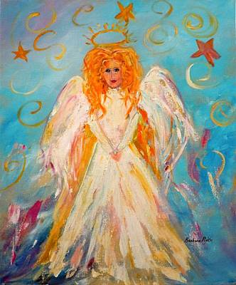 Painting - Guardian Angel by Barbara Pirkle