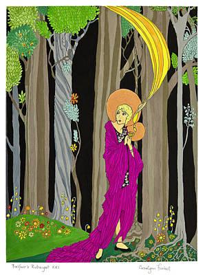 Rubaiyat Painting - Guardian Angel by Carolynn Fischel