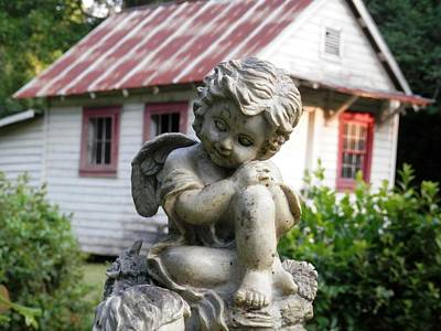 Photograph -  Country Widows Guardian Angel by Belinda Lee