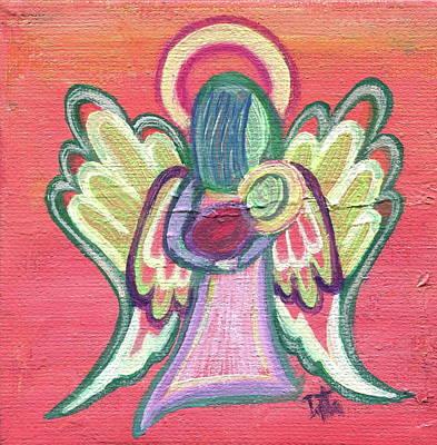 Guardian Angel Art Print by Danielle Tayabas