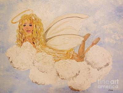 Happy Painting - Guardian Angel by Eloise Schneider