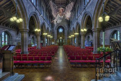 Christian Sacred Photograph - Guardian Angel by Ian Mitchell